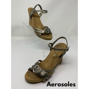 Aerosoles Wedge Strappy Sandal